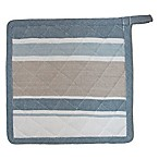 Park B. Smith Julian Stripe Pot Holder in Blue