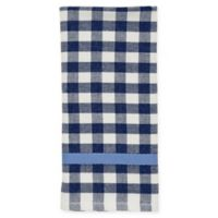 kate spade new york Color Pop Gingham Kitchen Towel in Navy