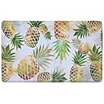 Home Dynamix Cook N Comfort 19.6-Inch x 35.4-Inch Pineapple Kitchen Mat
