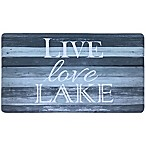 Home Dynamix Cook N Comfort 19.6-Inch x 35.4-Inch Live Lake Kitchen Mat