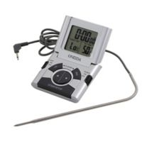 Oneida® Digital Probe Cooking Thermometer with Timer in Grey