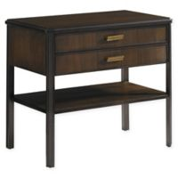 Stanley Furniture Crestaire Southridge Bedside Table in Porter Brown