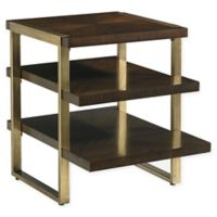 Stanley Furniture Crestaire Autry End Table in Porter Brown