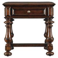 Stanley Furniture Costa Del Sol Illuminati Inlay End Table in Cordova