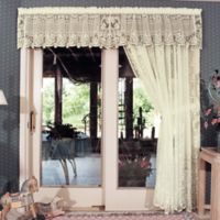 Heritage Lace® Victorian Rose Window Valance in Ecru