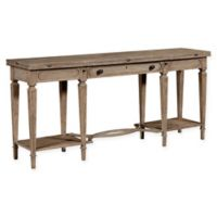 Stanley Furniture Wethersfield Estate Flip Top Table in Brimfield Oak
