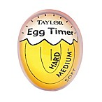 Taylor Egg Timer in Yellow/White