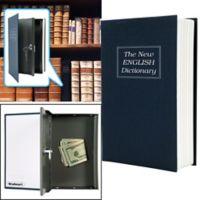 Stalwart Diversion Dictionary Book Safe in Black