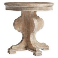 Stanley Furniture Juniper Dell Round Lamp Table in Brown