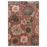 Fab Habitat Rosedale 7'9 x 10'9 Indoor/Outdoor Area Rug in Blush