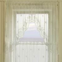Heritage Lace® Tidepool 72-Inch Swag Window Curtain Pair in White