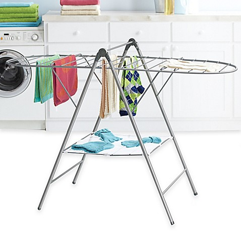 Real Simple 174 Adjustable Drying Rack Bed Bath Amp Beyond