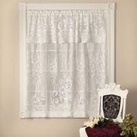 Heritage Lace® Kensington Window Valance in White
