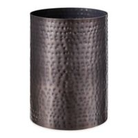 J. Queen New York™ Pressed Metal Wastebasket in Oil Rubbed Bronze