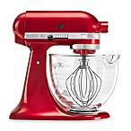 KitchenAid® 5 qt. Artisan® Design Series Stand Mixer with Glass Bowl in Candy Apple