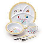 Disney® Baby Dumbo 5-Piece Melamine Dish Set in Blue