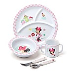 Disney® Baby Minnie Mouse 5-Piece Melamine Dish Set