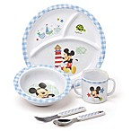 Disney® Baby Mickey Mouse 5-Piece Melamine Dish Set