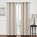 Lawson 84-Inch Grommet Top Room Darkening Window Curtain Panel Pair in Beige