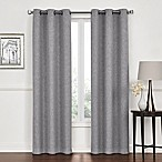 Lawson 84-Inch Grommet Top Room Darkening Window Curtain Panel Pair in Grey