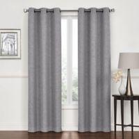 Lawson 84-Inch Grommet Top Room Darkening Window Curtain Panel Pair in Grey