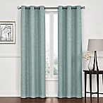 Lawson 84-Inch Grommet Top Room Darkening Window Curtain Panel Pair in Spa