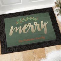Cozy Christmas 18-Inch x 27-Inch Multicolor Door Mat