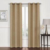 Lawson 84-Inch Grommet Top Room Darkening Window Curtain Panel Pair in Linen