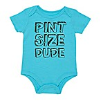 "Baby Starters® Size 3M ""Pint Size Dude"" Bodysuit in Teal"