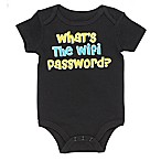 Baby Starters® Size 6M Wifi Password Bodysuit in Black