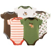 Luvable Friends® Size 18-24M 5-Pack Moose Bodysuit
