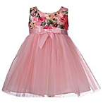 Bonnie Baby Size 3-6M Butterfly Ballerina Dress in Pink