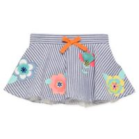 Start-Up Kids® Size 4T Striped Chambray Floral Tutu