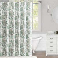 Abelie 72-Inch x 72-Inch Shower Curtain in Mineral Blue