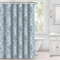 Zahava 72-Inch x 72-Inch Shower Curtain in Blue