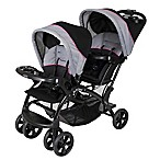 Baby Trend Sit N' Stand Double Stroller in Millennium Pink