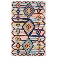 Momeni Margaux Geometric 7'6 x 9'6 Multicolor Area Rug