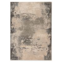 Nourison Maxell Abstract 5'3 x 7'3 Area Rug in Ivory/Grey