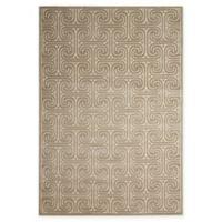 Nourison Kelly Ripa 5'3 x 7'5 Loomed Area Rug in Light Grey