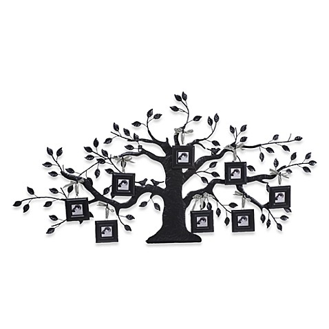creative co op family tree metal picture frame bed bath beyond. Black Bedroom Furniture Sets. Home Design Ideas