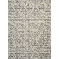 Nourison Kelly Ripa Swirled 9'6 x 13' Area Rug in Ivory/Grey