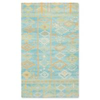 Nourison Madera 2'3 x 3'9 Accent Rug in Sky Blue