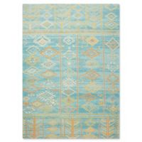 Nourison Madera 6'6 x 9'6 Area Rug in Sky Blue