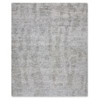 Nourison Ellora 7'9 x 9'9 Hand-Knotted Area Rug in Slate