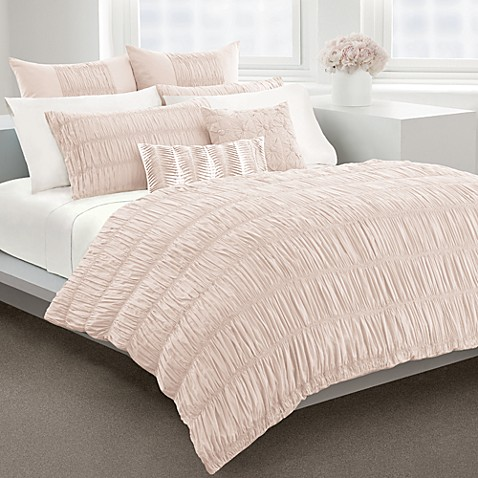 Dkny Willow Blush Duvet Cover 100 Cotton 230 Thread Count