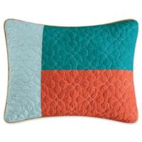 C&F Enterprises, Inc Coral Gables Standard Pillow Sham in Orange