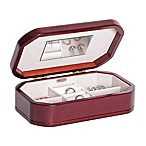 Mele & Co. Morgan Wooden Jewelry Box in Cherry Finish