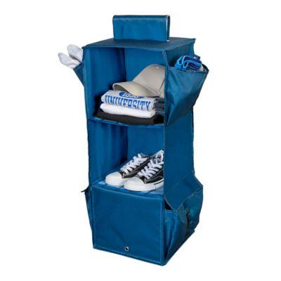 Honey Can Do® 3 Shelf Hanging Organizer In Blue