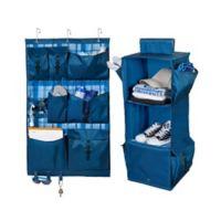 Honey-Can-Do® 2-Piece Closet Organizer Kit in Blue