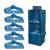 Honey-Can-Do® 2-Piece Closet Organization Kit in Blue